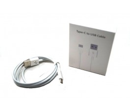 Cable usb a tipo C micro usb blanco