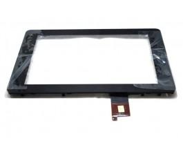 Pantalla tactil con marco Huawei MediaPad S7-301W negra