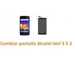 Cambiar pantalla completa tactil y lcd Alcatel Idol 3 5.5