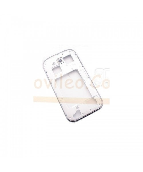 Carcasa Intermedia Blanca para Samsung Galaxy Ggrand Neo i9060 i9062 - Imagen 1
