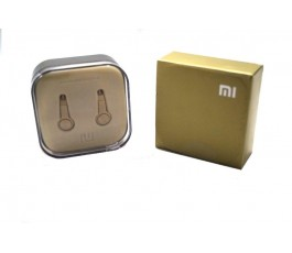 Cascos compatibles Xiaomi dorados