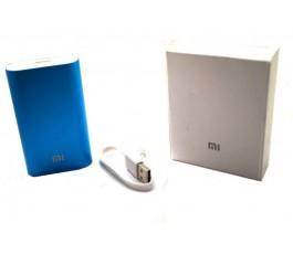 Bateria externa compatible Xiaomi 5200mAh azul