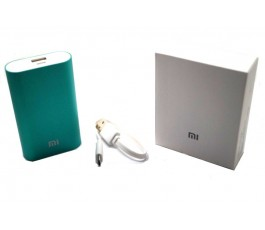 Bateria externa compatible Xiaomi 5200mAh verde