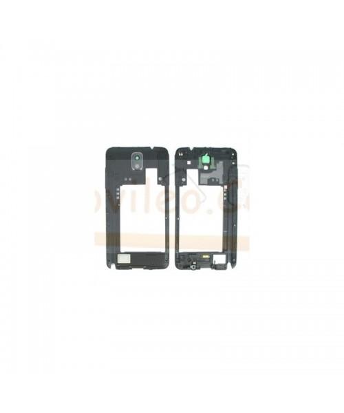 Marco, Carcasa intermedia Negra para Samsung Galaxy Note 3 , N9005 - Imagen 1