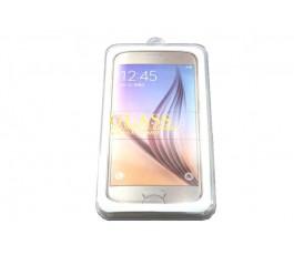 Protector cristal templado blanco Samsung Galaxy S6 Edge Plus G928