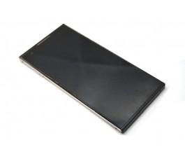 Pantalla completa táctil lcd display con marco para Oye! Mas negro