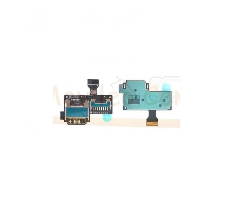 Modulo Lector Sim y Lector Tarjeta de Memoria para Samsung Galaxy S4 Mini i9195 - Imagen 1