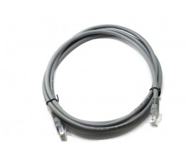 Cable de red RJ45 Cat 6 gris 2m