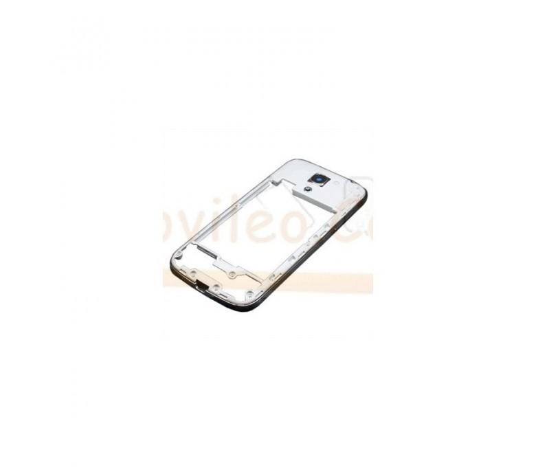 Chasis Marco Intermedio Blanco para Samsung Galaxy S4 Mini i9190 i9195 - Imagen 1