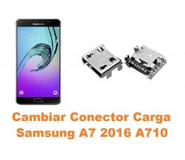 Cambiar conector carga Samsung Galaxy A7 2016 A710