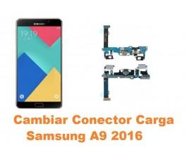Cambiar conector carga Samsung Galaxy A9 2016 A910