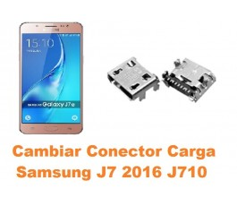 Cambiar conector carga Samsung Galaxy J7 2016 J710