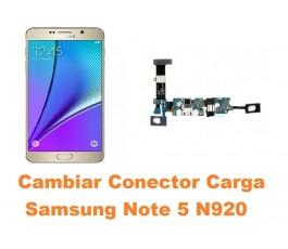 Cambiar conector carga Samsung Galaxy Note 5 N920