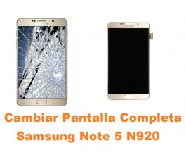 Cambiar Pantalla Completa Samsung Galaxy Note 5 N920
