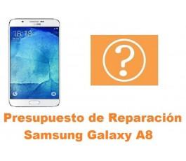 Presupuesto de reparacion Samsung Galaxy A8 A800