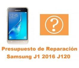 Presupuesto de reparacion Samsung Galaxy J1 2016 J120
