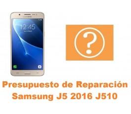 Presupuesto de reparacion Samsung Galaxy J5 2016 J510
