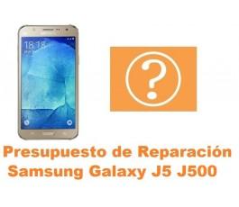 Presupuesto de reparacion Samsung Galaxy J5 J500
