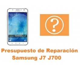 Presupuesto de reparacion Samsung Galaxy J7 J700