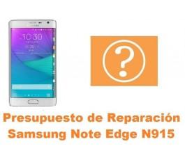 Presupuesto de reparacion Samsung Galaxy Note Edge N915
