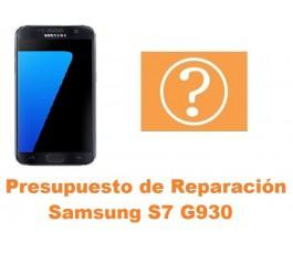 Presupuesto de reparacion Samsung Galaxy S7 G930