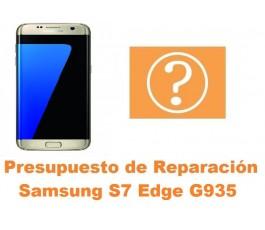 Presupuesto de reparacion Samsung Galaxy S7 Edge G935