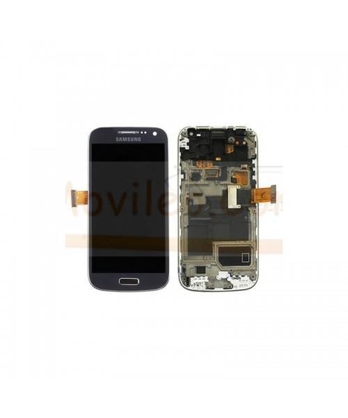 Pantalla Completa Gris Con Marco para Samsung S4 Mini i9195 - Imagen 1