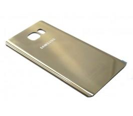 Tapa trasera Samsung Galaxy Note 5 N920 dorada