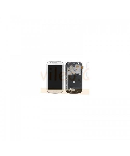 Pantalla Completa Blanca con Marco Samsung Galaxy Express i8730 - Imagen 1
