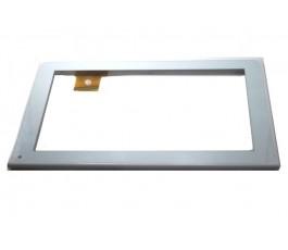 Pantalla tactil con marco para Avenzo AV3904 blanca