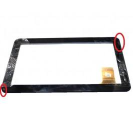 Pantalla tactil y marco con tara para Woxter Tablet PC QX 100 negra