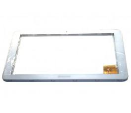 Pantalla tactil con marco para Woxter Nimbus 115 blanca
