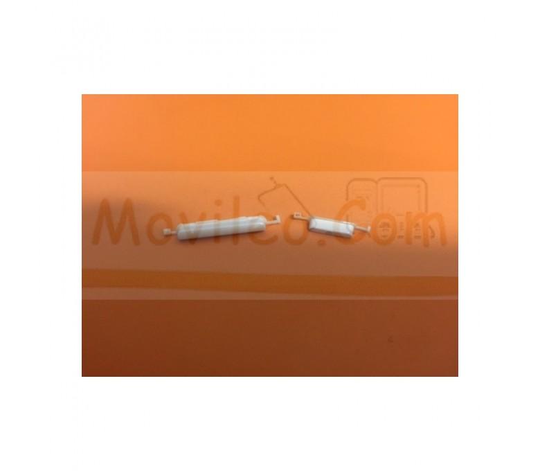 Botones Exteriores Blancos para Samsung Galaxy Express i8730 - Imagen 1