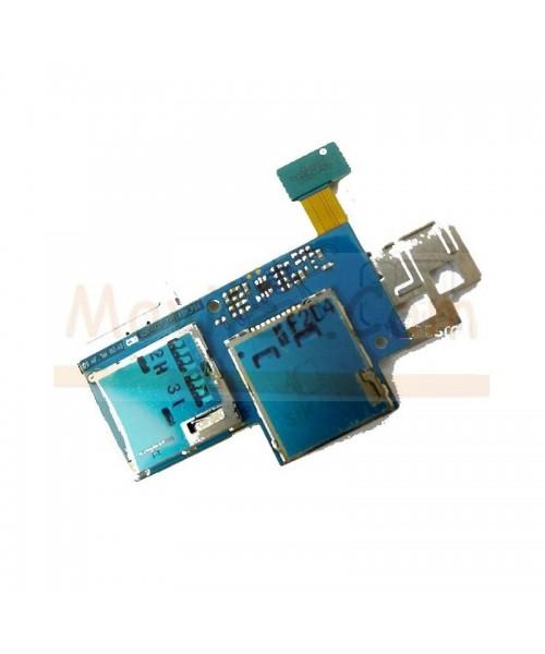 Flex Lector Tarjeta Sim y Micro SD para Samsung Galaxy Express i8730 - Imagen 1
