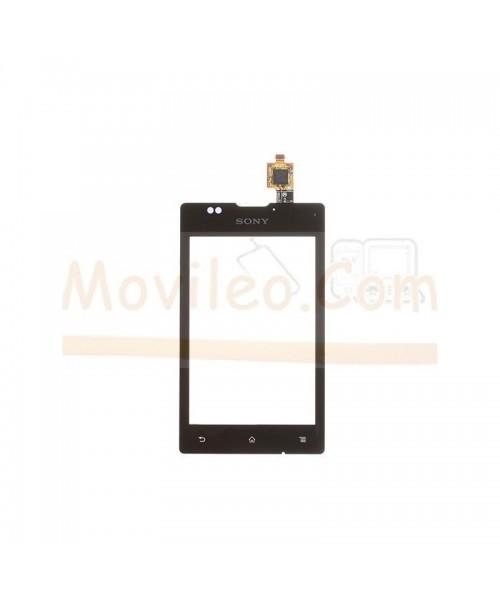 Pantalla Táctil Digitalizador Negra para Sony Xperia E, C1505, C1604, C1605 - Imagen 1