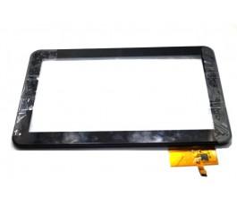 Pantalla tactil con marco para Lazer MID1506CM negra