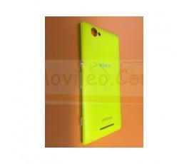 Tapa Trasera Amarilla para Sony Xperia M C1904 C1905 - Imagen 1