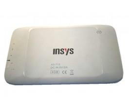 Tapa trasera para Insys KidsTab A3-712 blanca
