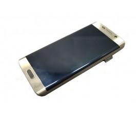 Pantalla completa con marco usada Samsung Galaxy S6 Edge G925 dorada