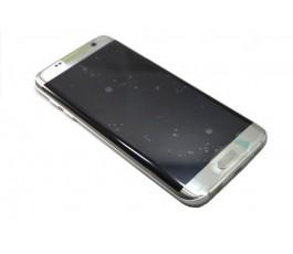 Pantalla completa para Samsung Galaxy S7 Edge G935 plata