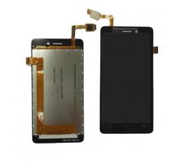 Pantalla completa lcd display y tactil Bq Aquaris E4 negra