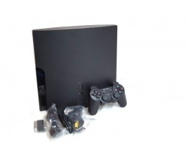 Consola Play Station 3 Slim 320GB usada negra