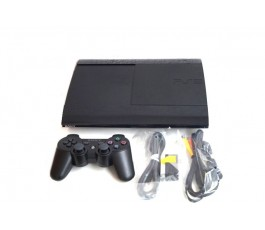 Consola Play Station 3 Slim 500GB usada negra
