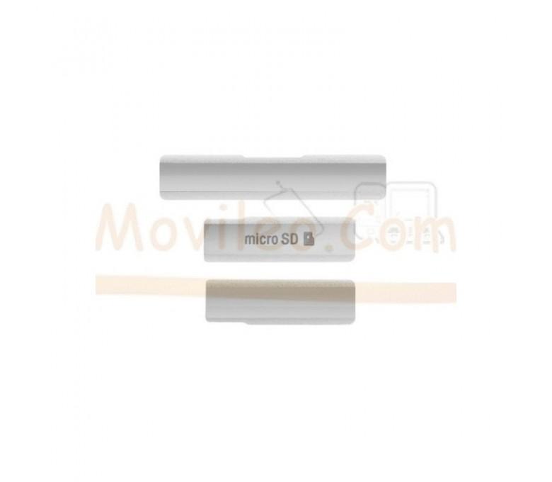 Set Cubiertas Blancas Xperia Z1 L39 L39H - Imagen 1