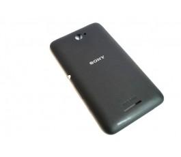Tapa trasera para Sony Xperia E4 negra