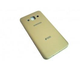 Carcasa tapa trasera para Samsung Galaxy A3 A300 dorada