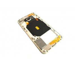 Carcasa intermedia para Samsung Galaxy S6 Edge Plus G928 dorado