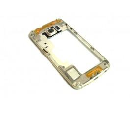 Marco intermedio Samsung Galaxy S6 Edge G925F dorado de desmontaje
