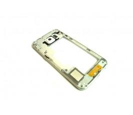 Marco intermedio Samsung Galaxy S6 Edge G925F gris de desmontaje