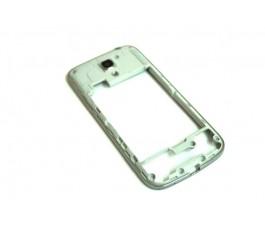 Carcasa intermedia para Samsung Galaxy S4 Mini I9190 I9195 gris